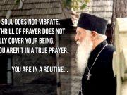 Fr. Gheorghe Calciu - Don't stop praying