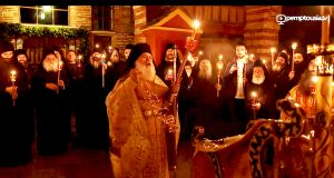 Easter Service Mount Athos 2015