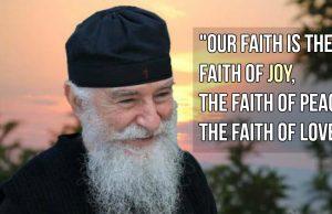 Fr Nikon - The faith of joy