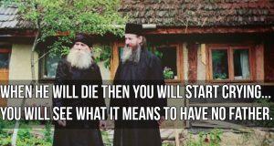 Fr. Ioanichie - Love your elders