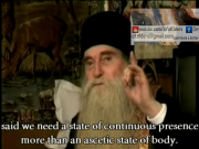 Fr Arsenie - True fasting