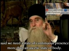 Fr Arsenie - True fasting