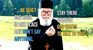 Fr. Roman - Stop the noise and be quiet