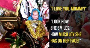 Little girl: I love you mom