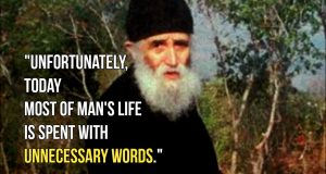 Questions of Saint Paisios