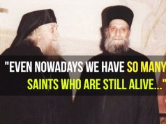 Fr. Aimilianos of Simonopetra - The saints are now living among us